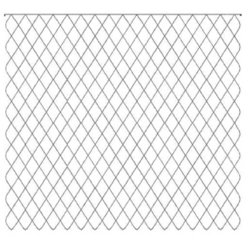 10 x 17 Crosshatch-L02952*
