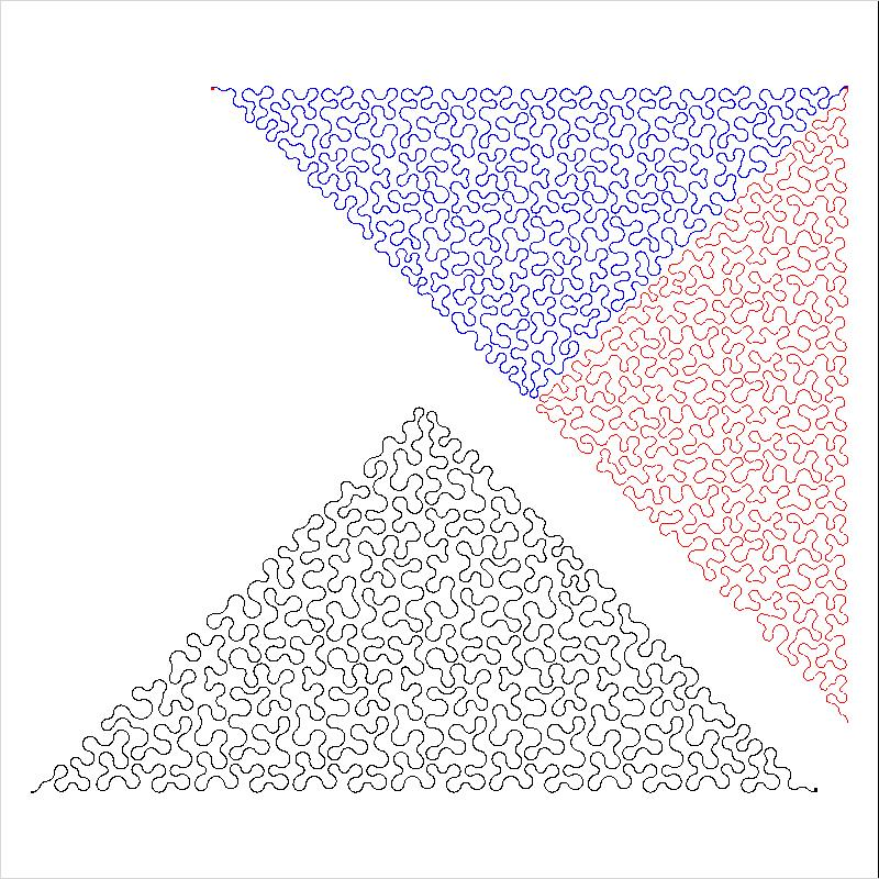 12 inch Stipple Triangle p2p-L01901*