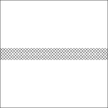 66 x 7 Crosshatch-L01853*