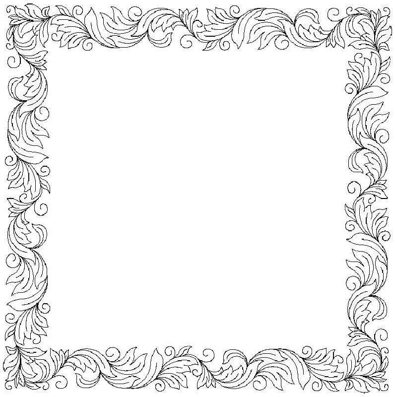 Acanthus_2 border and corner-L00537