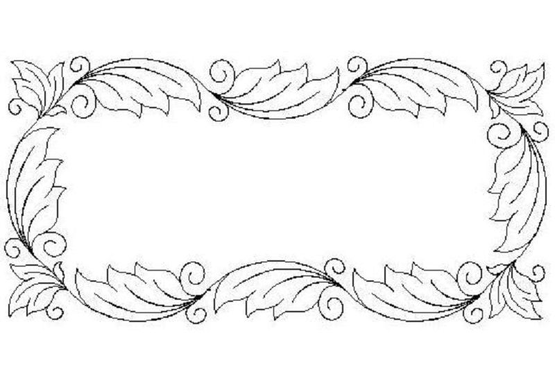 Acanthus Border and Corner 5-L01117