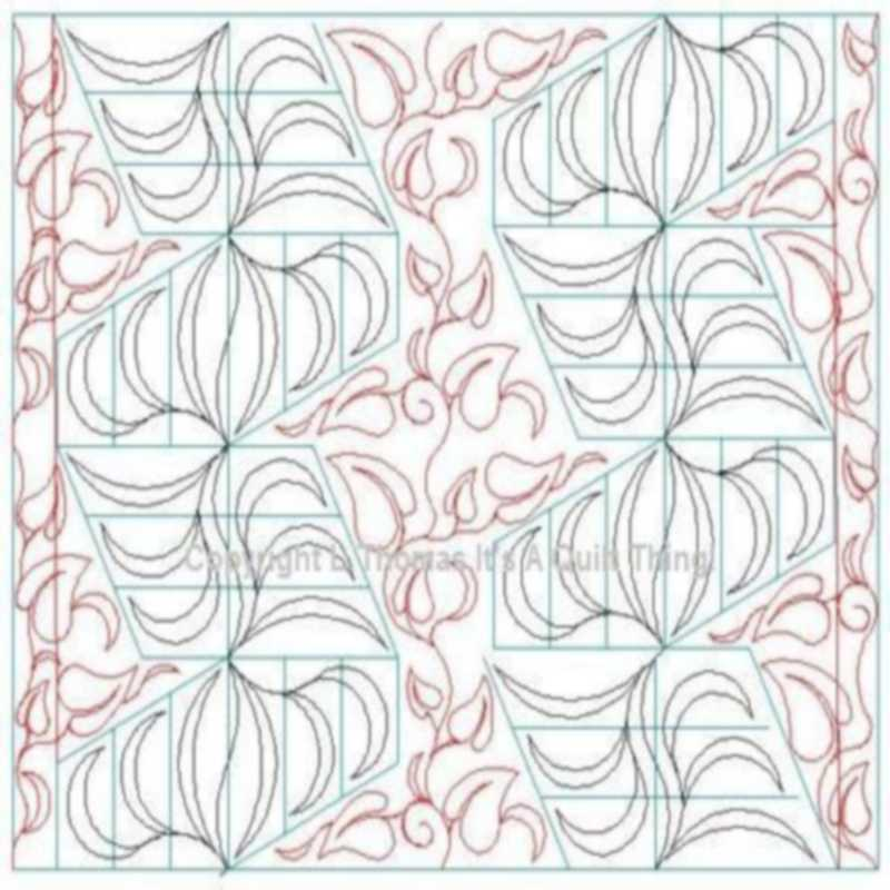 Barbs Jelly Roll Curves and Leaves-L00864