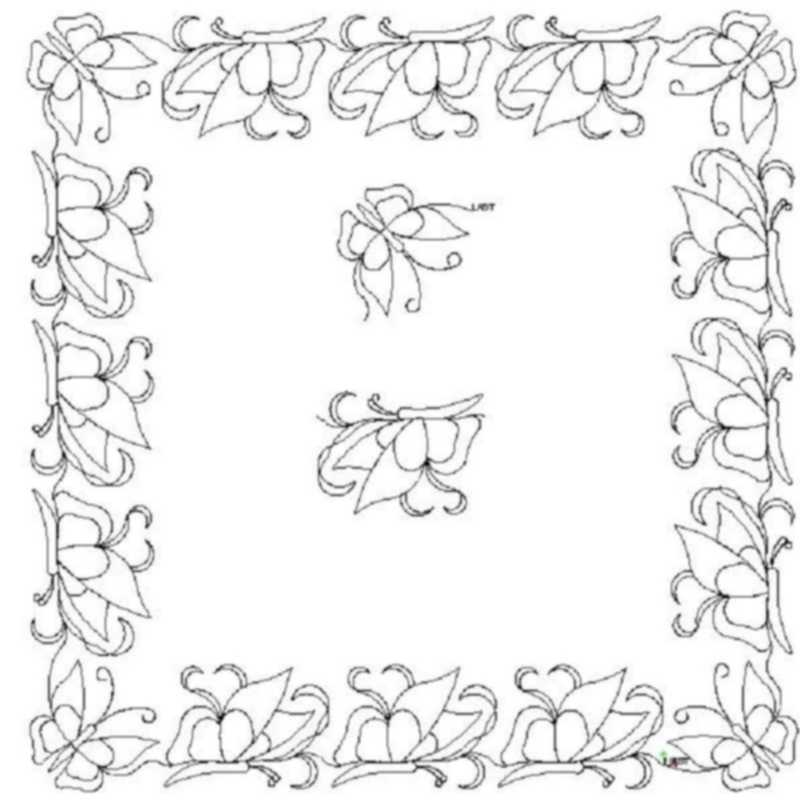 Butterfly_border and corner-L00239*