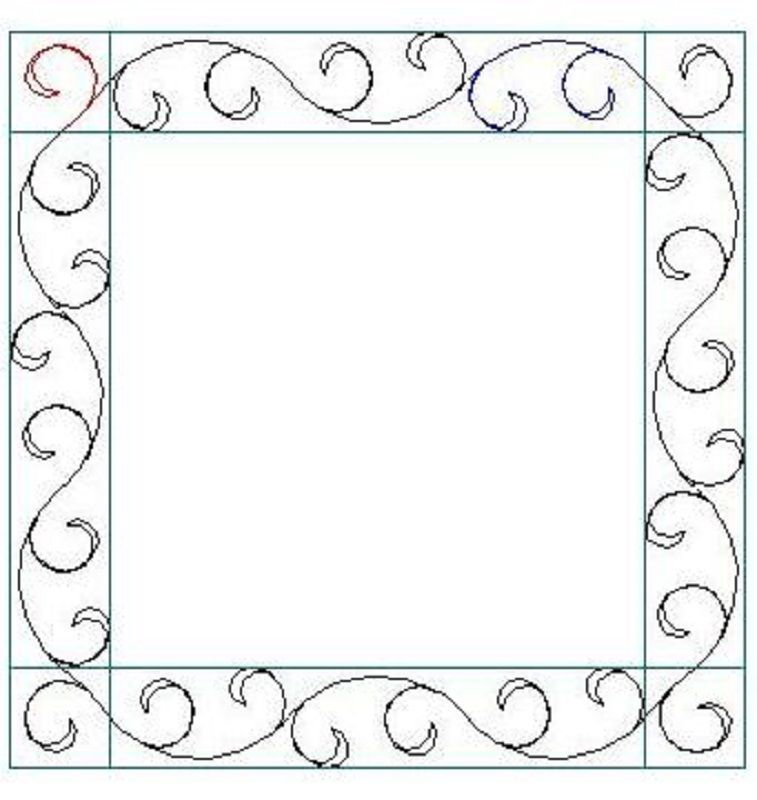 Callies Border and Corner-L01444
