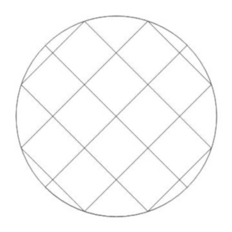 Circular Crosshatch 1-L03311*