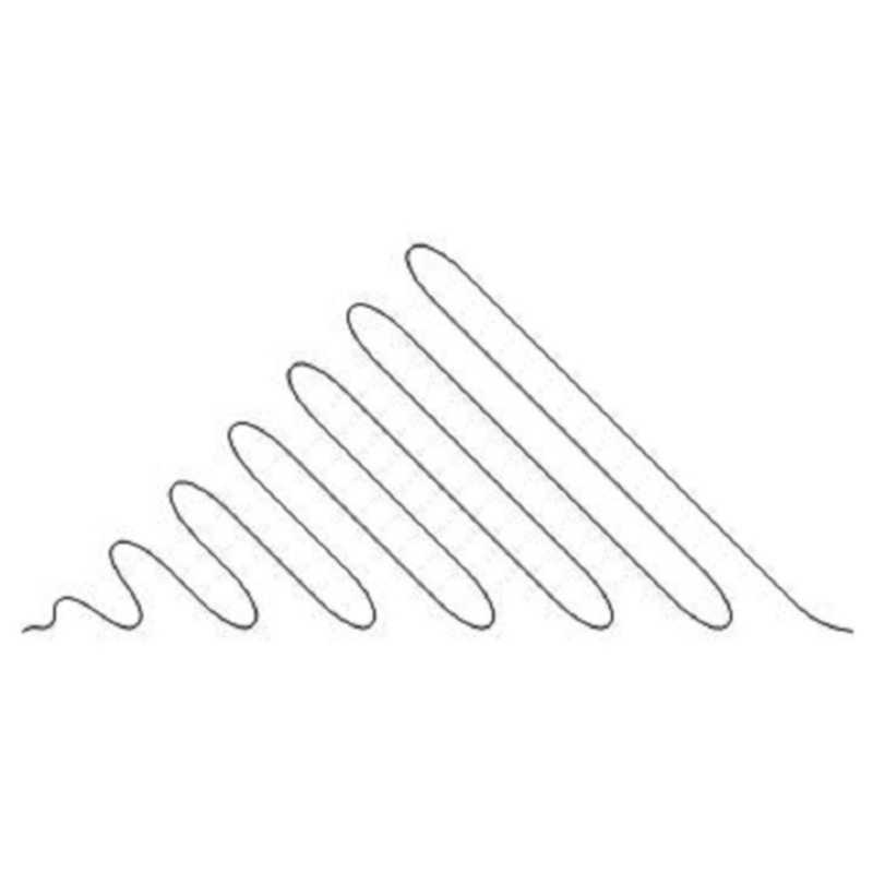 Coils Diagonal Triangle 6-L02128*