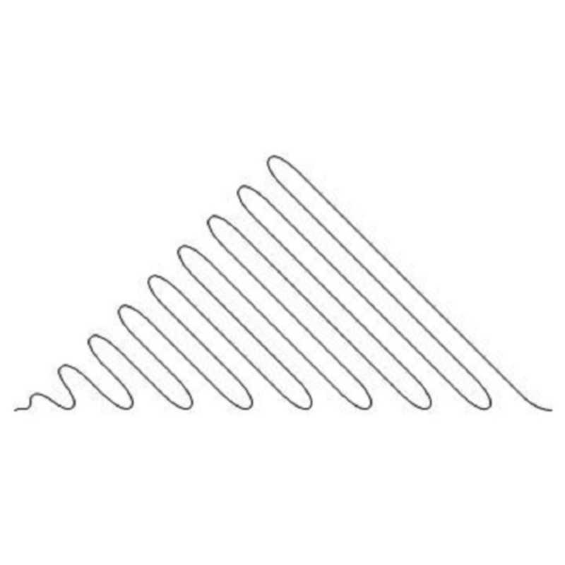 Coils Diagonal Triangle 8-L02130*