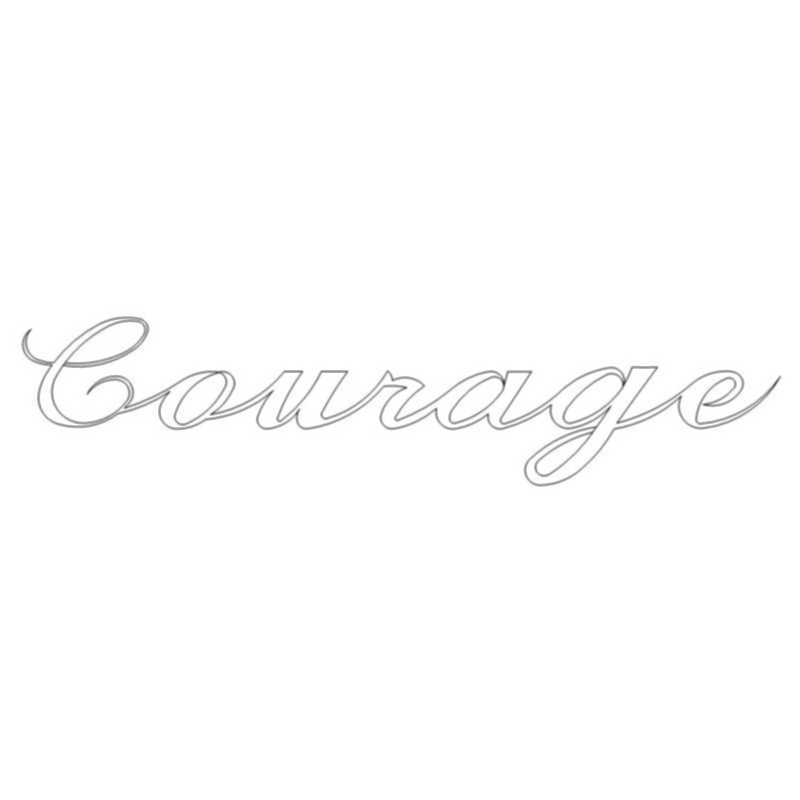 Courage Word-L03515*