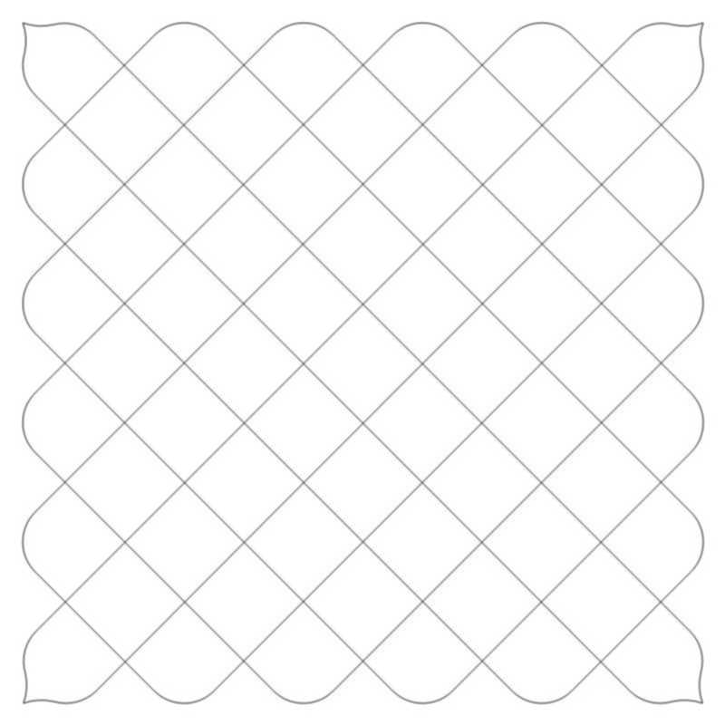 Crosshatch Block-L03636*