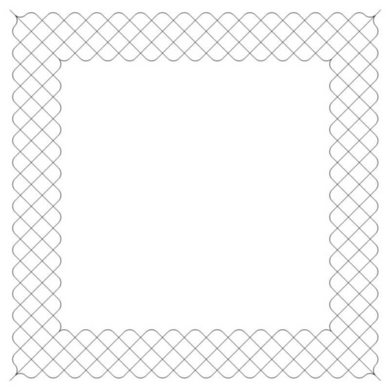 Crosshatch Frame 4-L03630*