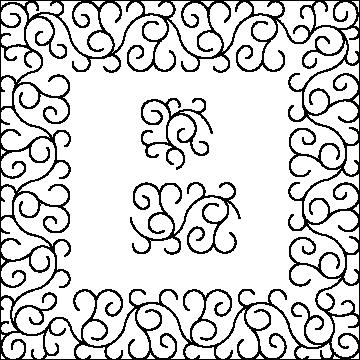 Curl Border and Corner 5-L01489*