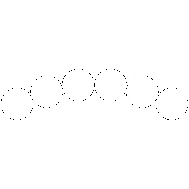 DWR Coils Ring Beads-L01158