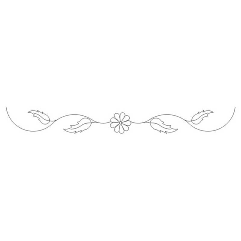 Daisy and Leaf Sash-L03694*