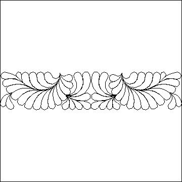 Debs Applique Feather Fill-L03707*