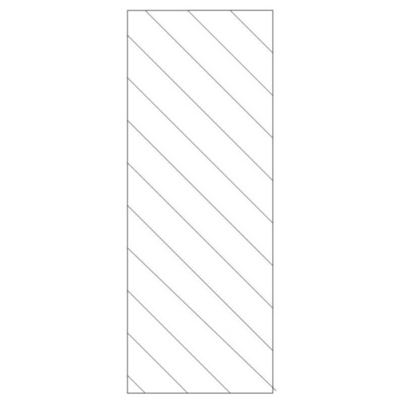 Diagonal Door Panel-L03736*