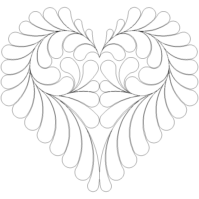 Feather Heart_4_full block-L00709