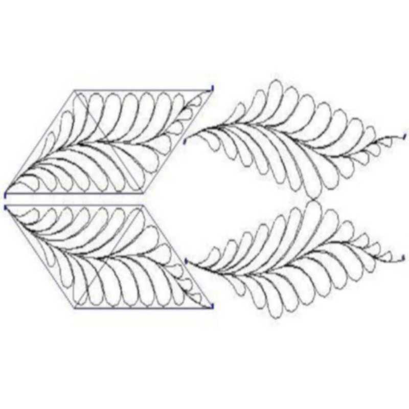 Feather Parallelograms-L00600