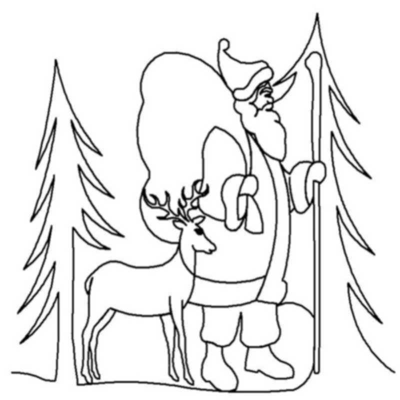 Forest Santa-L00444