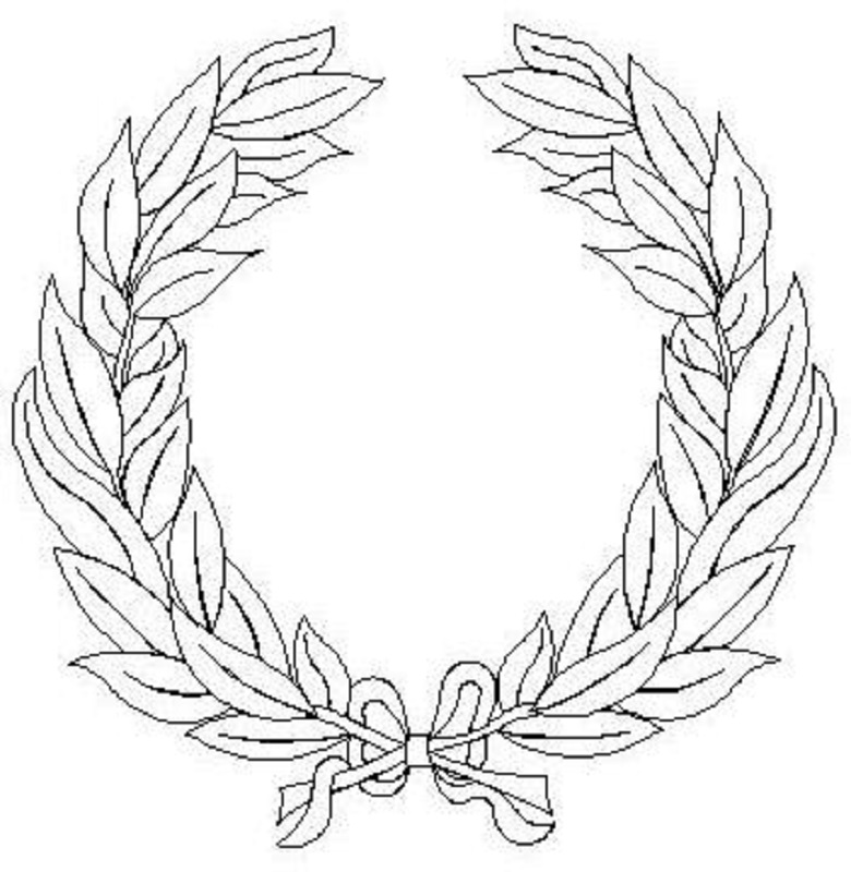 YW Laurel Wreath-L01553*