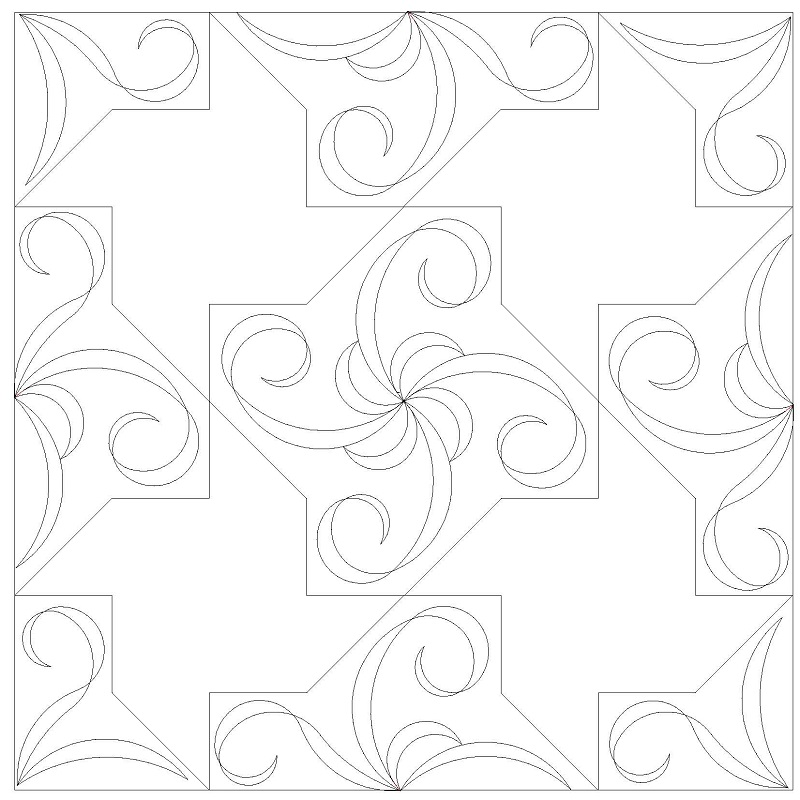 Pinwheel Swirls Set-L00455