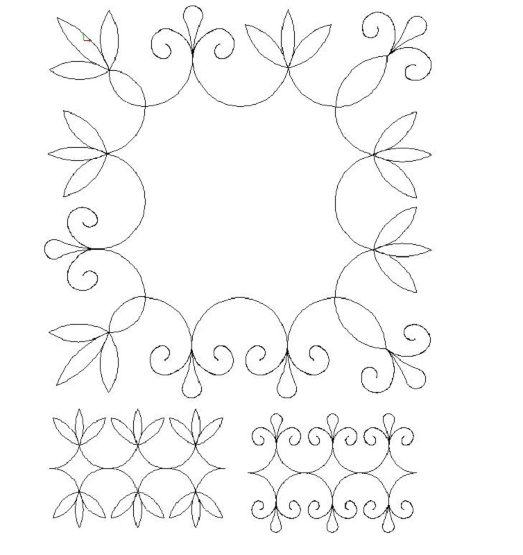 Point and Curl_border and corner-L00341