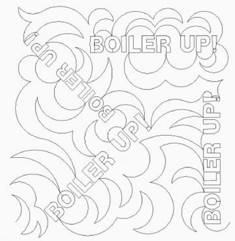 School Meander Boiler Up-L02361*