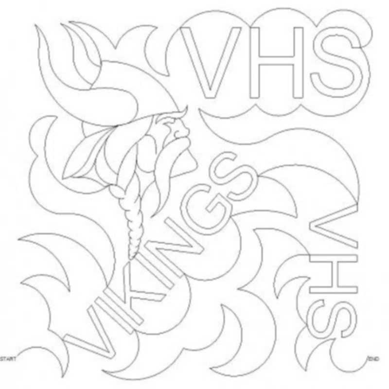 School Meander VHS Vikings-L02560*