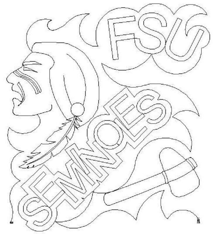 School Meander FSU Seminoles 2-L02533*