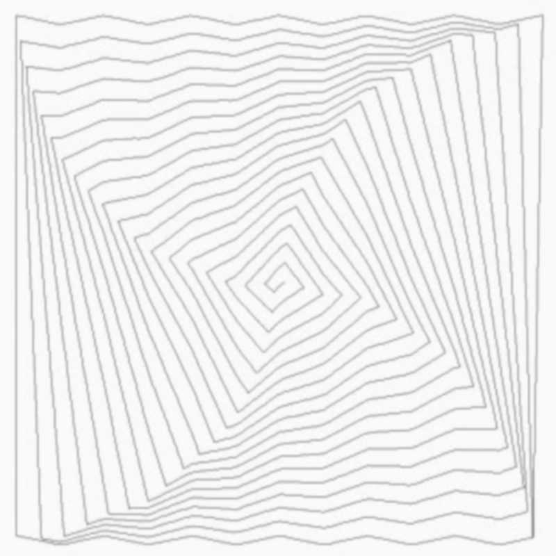 Twisted Spiral Square Zig Zag 00171dc*