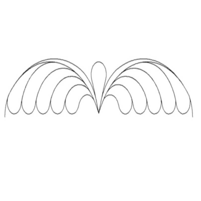 Winged Feather_sash-L00550