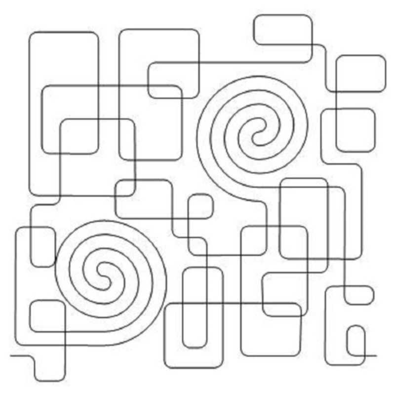 Box Maze and Spirals-L02240*