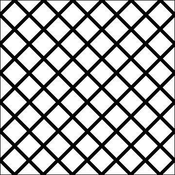 Crosshatch Square 6-L03623* - Click Image to Close