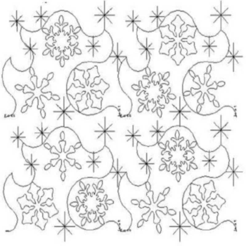 Simple Snowflake Set E2E-L01780*